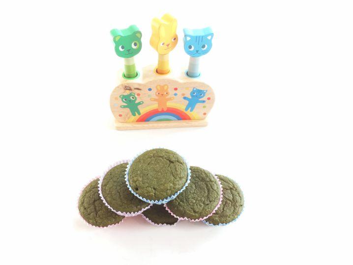 Groene muffins